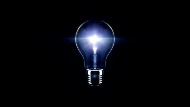 light bulb - light bulb stock videos & royalty-free footage