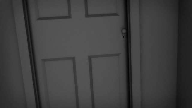 Open Door Dark Room Inside Ms Bw Zi Zo Cgi Light Coming In Dark Room Through Open Door Stock Footage Video Getty Images