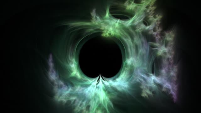 vídeos de stock, filmes e b-roll de light flux 1027: fractal light forms ripple and shine - plasma matéria