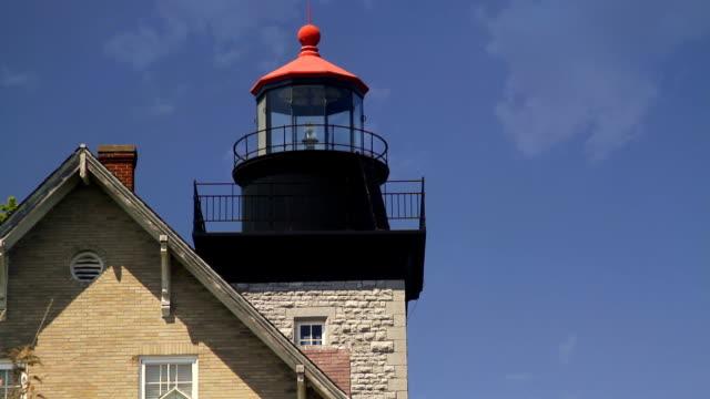 ライトハウス閉じる hd - 灯台船点の映像素材/bロール