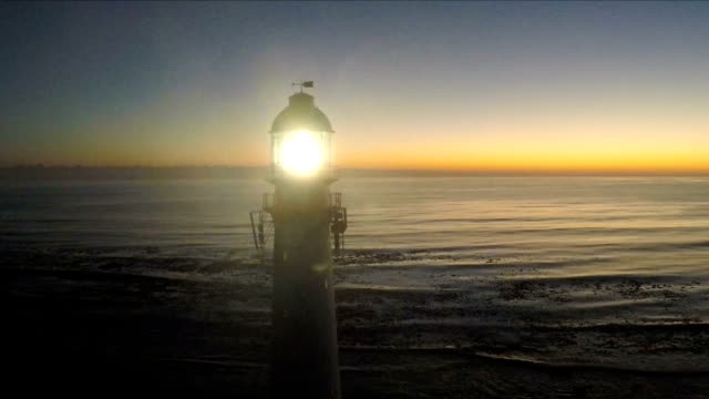 light house, kommetjie, cape town, south africa - lighthouse stock videos & royalty-free footage
