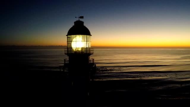 vidéos et rushes de light house, kommetjie, cape town, afrique du sud - lighthouse