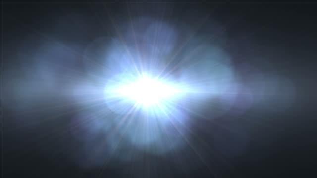 O reflexo de lente de luz sobreposição de transição, queimadura, derrame luz de filme
