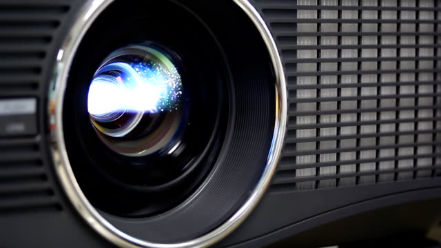light lens  projector close - projection equipment stock videos & royalty-free footage