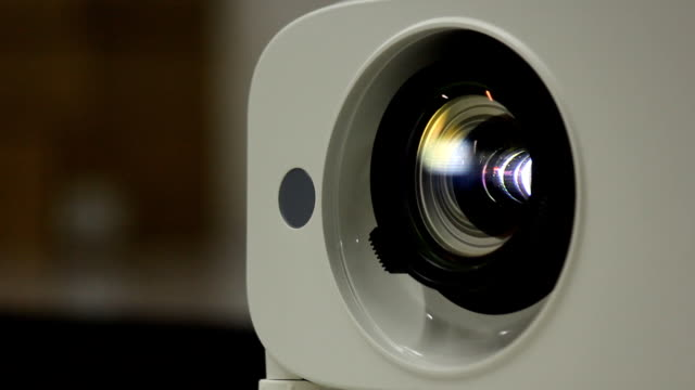 light lens projector close.part1 - entertainment center stock videos and b-roll footage