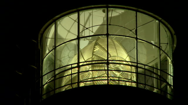 EXCU light of the lighthouse at night/ Cape Town/ South Africa