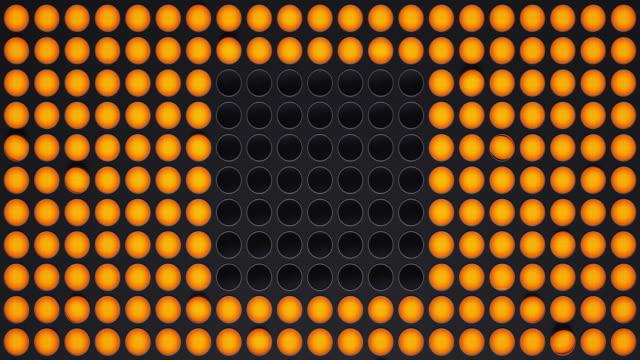 vídeos de stock e filmes b-roll de light panel in the form cube - ponto de exclamação