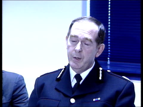 paisley linwood gvs wreckage of crashed plane in field with fire fighters around int assistant chief constable andrew cameraon press conference sot... - glasgow international airport stock videos & royalty-free footage