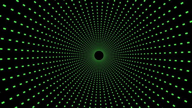 ライト スピード トンネル \ space\ 抽象的な背景 - 歪んだ点の映像素材/bロール