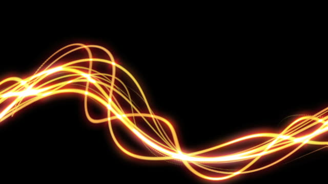 light streaks background loop - squiggle stock videos & royalty-free footage