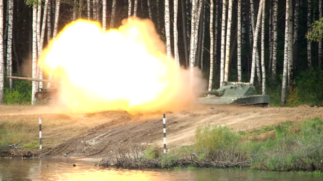 light tank shooting - target shooting stock videos and b-roll footage