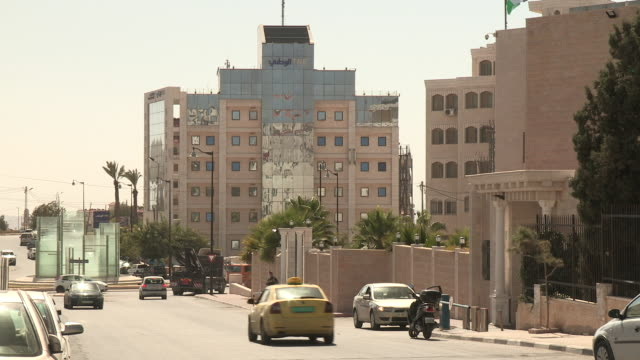 light traffic, ramallah, palestine - palestinian territories stock videos and b-roll footage