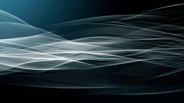 Light Trails Ribbon Particles