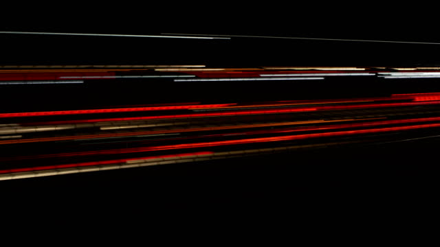 vídeos de stock e filmes b-roll de light trails - light trail