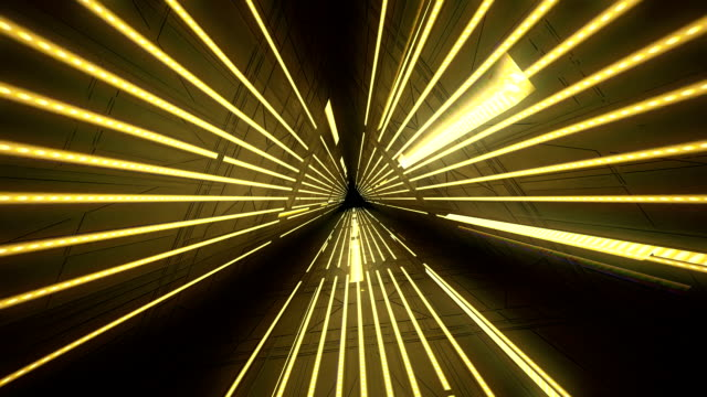 stockvideo's en b-roll-footage met light tunnel abstract 01 - tunnel