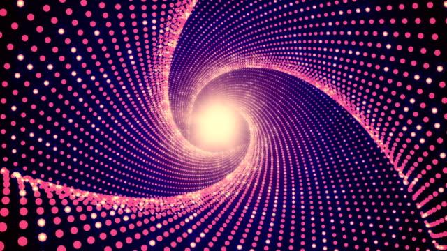 vídeos y material grabado en eventos de stock de túnel de luz de fondo - fondo púrpura