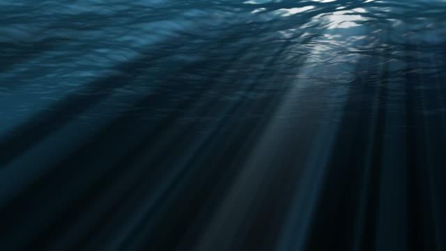 vidéos et rushes de lumière sous-marine - reflet