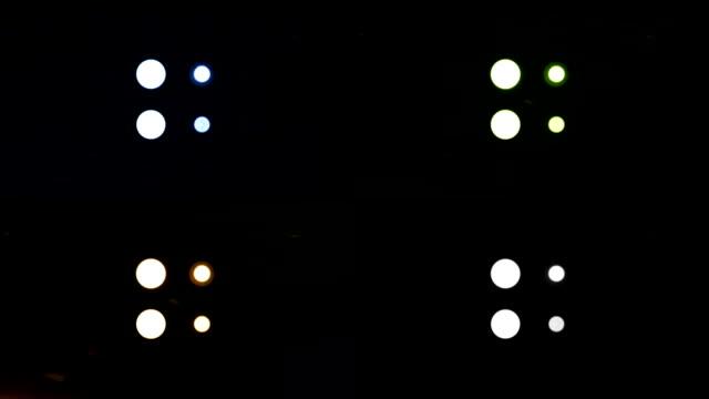 vídeos y material grabado en eventos de stock de light wall multi-pack x 8 - haz de luz