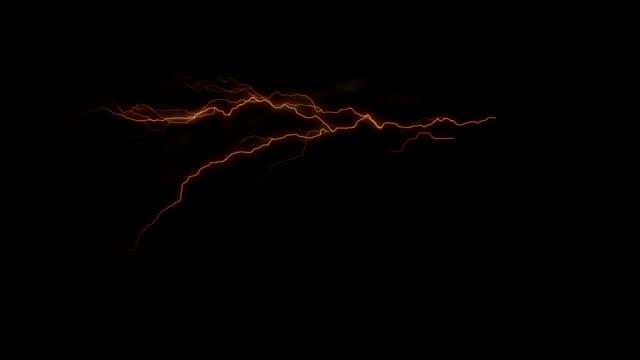 ライトニング - 放電点の映像素材/bロール