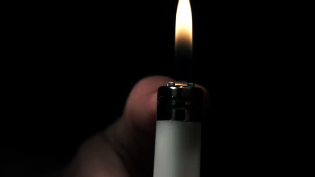 lighter spark - chiaroscuro stock videos and b-roll footage