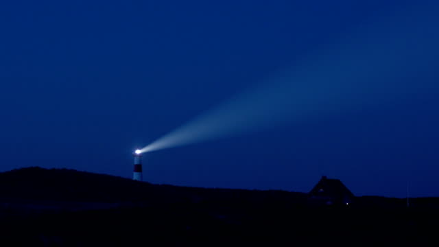 lighthouse at dusk - lighthouse stock videos & royalty-free footage
