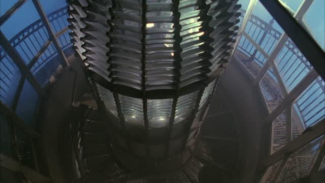 stockvideo's en b-roll-footage met ms lighthouse beacon - vuurtoren