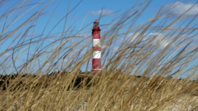 lighthouse in a strong wind - sylt stock videos & royalty-free footage