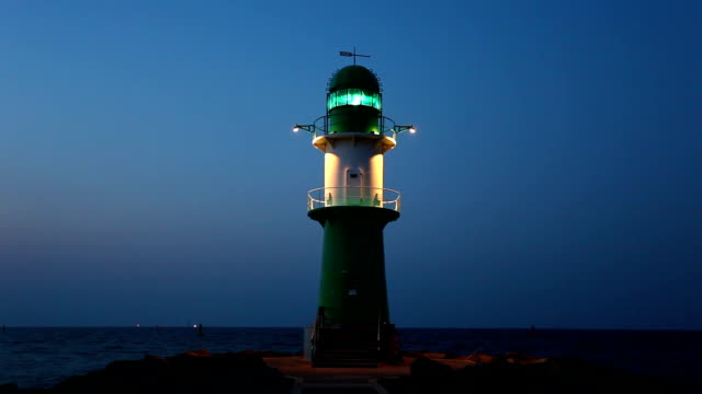 lighthouse in sunset - lighthouse stock videos & royalty-free footage