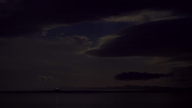 lighthouse in the night - dusk stock videos & royalty-free footage