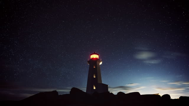Lighthouse in the Stars