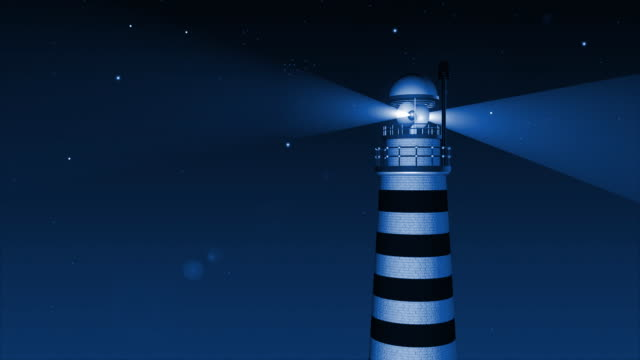 Lighthouse night