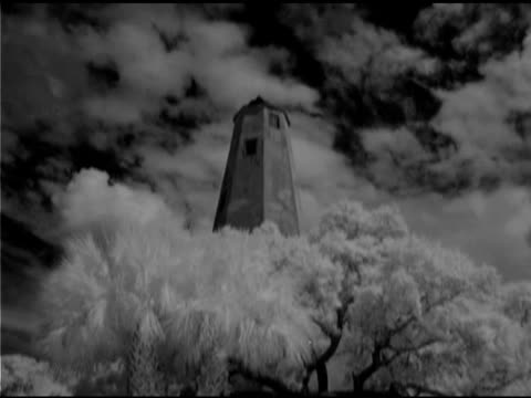 lighthouse on bald head island, north carolina - bald head island stock videos & royalty-free footage