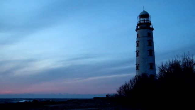 lighthouse on the coast - lighthouse stock videos & royalty-free footage
