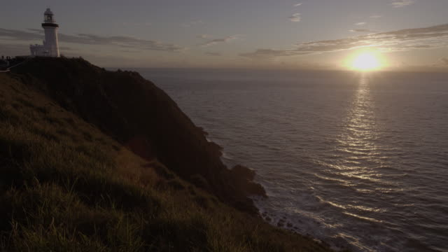 lighthouse sunrise - viewpoint stock videos and b-roll footage