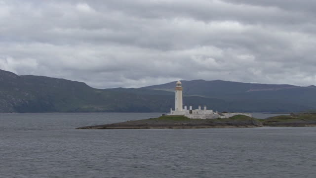 lighthouse - hebrides stock videos & royalty-free footage