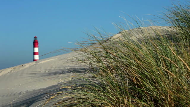 lighthouse - north frisian islands stock videos & royalty-free footage
