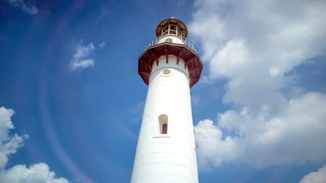 Lighthouse with bluesky timelapse