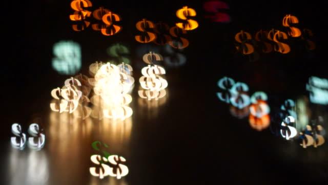 Lighting Dollar Sign