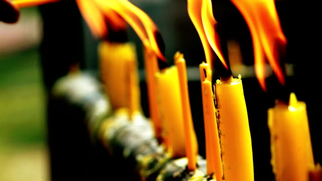 Lighting Up Candles