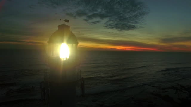 lighting up the darkness - lighthouse stock videos & royalty-free footage