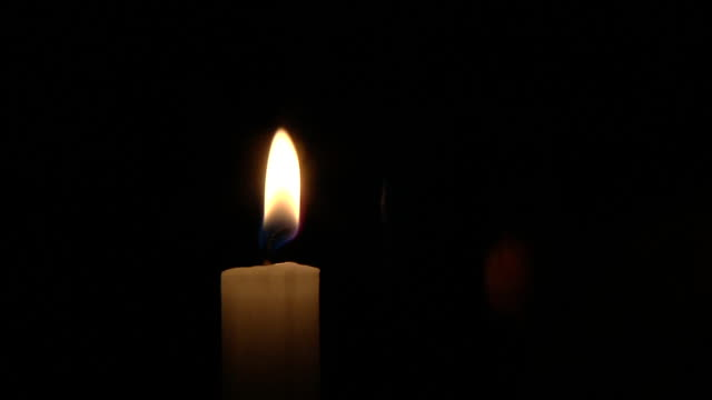 lightning a candle - candle stock videos & royalty-free footage