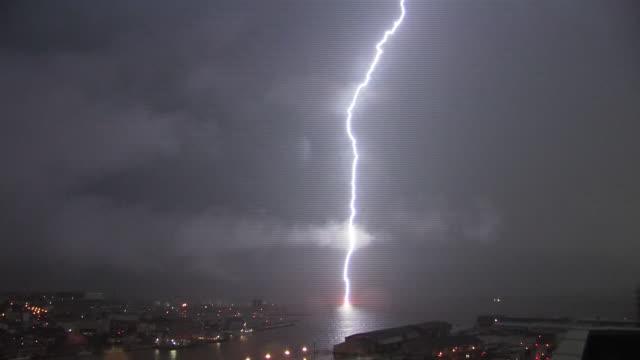 Lightning Flash, Hokkaido, Japan