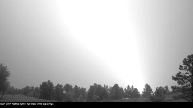 lightning, high-speed - lightning strike stock videos and b-roll footage