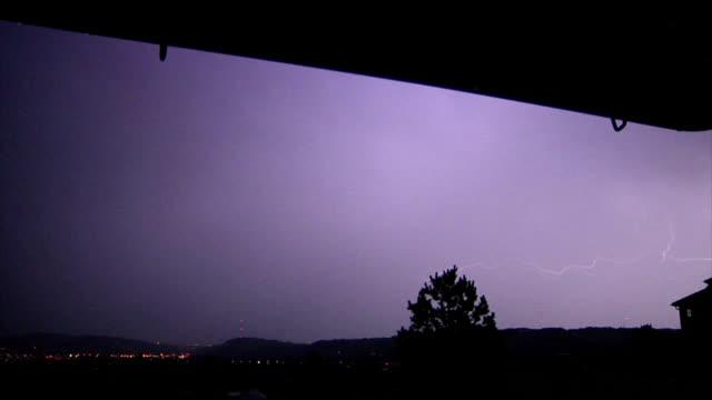 vídeos de stock e filmes b-roll de lightning, high-speed - rapid city