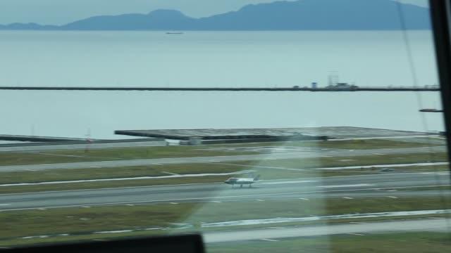 lightning ii aircraft with marine fighter attack squadron 121 depart marine corps air station iwakuni japan the f35b lightning ii is a... - 中央管理室点の映像素材/bロール