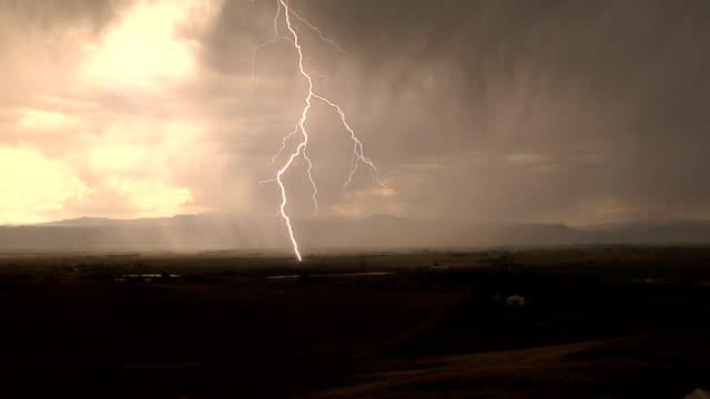 lightning strike - super slow motion stock videos & royalty-free footage