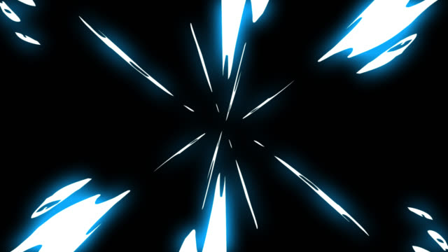 lightning thunder boom electrical cartoon animation, hand draw effect, comic style computer graphic - shooting a weapon stock videos & royalty-free footage