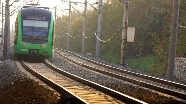 Stadtbahn fahren auf Strecke