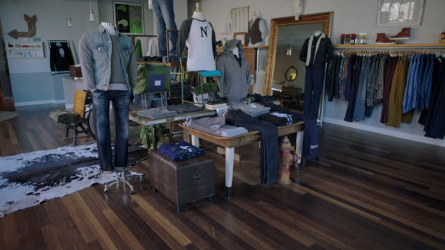 Lights come on in local clothing retail shop
