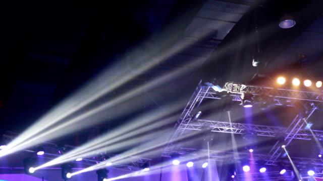 vídeos y material grabado en eventos de stock de luces de concierto - láser médico